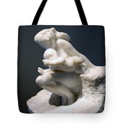 Rodin's Woman And Child Tote Bag