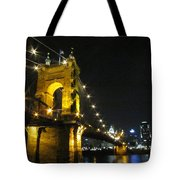 Roebling Bridge II Tote Bag
