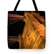 Roebling Tower I Tote Bag