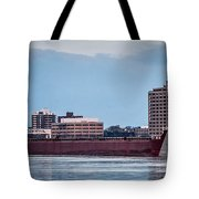 Roger Blough With Sarnia Skyline Tote Bag