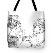 Roger With A Lady Tote Bag
