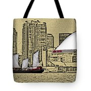 Roger's Centre And Tall Ship Tote Bag