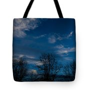 Rogue Valley Winter Eve Tote Bag