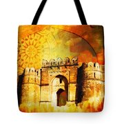 Rohtas Fort 00 Tote Bag
