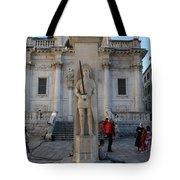 Roland's Column Tote Bag