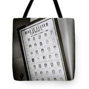 Roll Of Honour Tote Bag