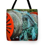 Rolled-up Nets Tote Bag