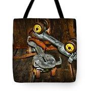 Roller Skates Vintage 4 Tote Bag