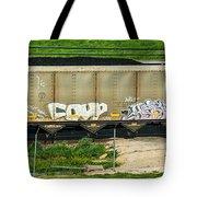 Rolling Art Tote Bag