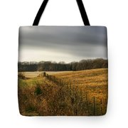Rolling Field Tote Bag