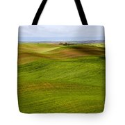 Rolling Idaho Farmland Tote Bag
