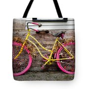 Rolling On Pink Tote Bag