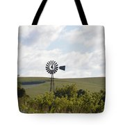 Rolling Plains Windmill Tote Bag