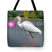 Rolling Roger Stick Ball Tote Bag