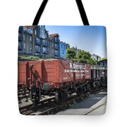 Rolling Stock Tote Bag