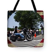 Rolling Thunder Salute Tote Bag