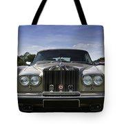 Rolls Royce Corniche 1980 Tote Bag