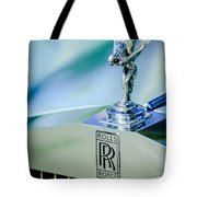 Rolls-royce Hood Ornament -782c Tote Bag