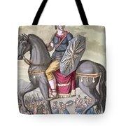 Roman Cavalryman Of The State Army Tote Bag