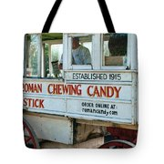Roman Chewing Candy Wagon In New Orleans Tote Bag