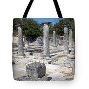 Roman Columns Tote Bag