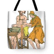 Roman Devices For Setting Fractures Tote Bag