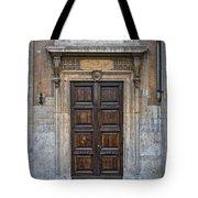 Roman Doors Tote Bag
