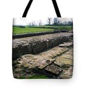 Roman Fort Ruins, England Tote Bag