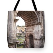Roman Forum Arch Tote Bag
