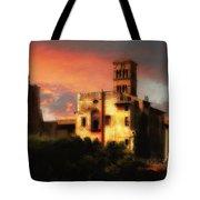 Roman Forum At Sunset Tote Bag