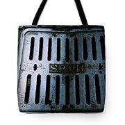 Roman Manhole Cover Tote Bag