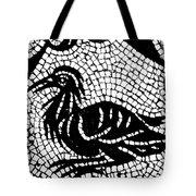 Roman Mosaic Bird Tote Bag