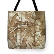 Roman Prison Tote Bag by Giovanni Battista Piranesi