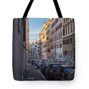 Roman Street Tote Bag