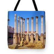 Roman Temple In Cordoba Tote Bag