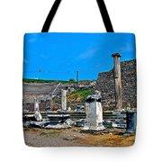 Roman Theatre In Pergamum-turkey  Tote Bag