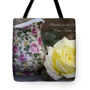 Romance Is The Dance Of Life Tote Bag