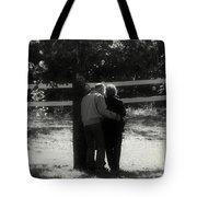 Romance Never Dies Tote Bag