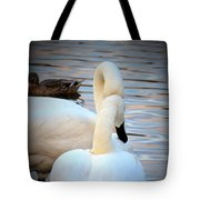 Romance Of The White Swans Tote Bag
