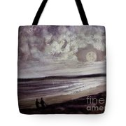 Romance Under The Moon Tote Bag