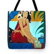 Romancing The Sun Tote Bag