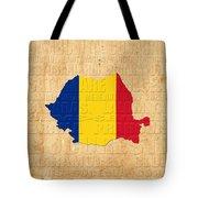 Romania Tote Bag