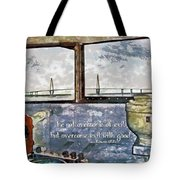 Romans 12 21 Tote Bag