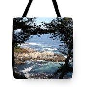 Romantic California Coast Tote Bag
