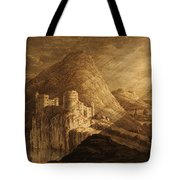 Romantic Castle Tote Bag