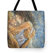 Romantic Cover Painting Tote Bag