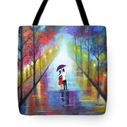Romantic Interlude Tote Bag
