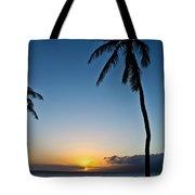 Romantic Maui Sunset Tote Bag