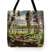 Romantic Meadow Tote Bag