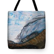 Romantic Mountains Tote Bag